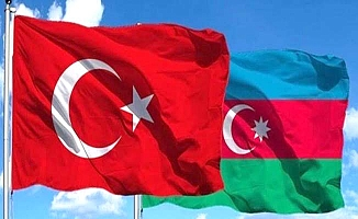 Çorum'da Azerbaycan'a destek konvoyu