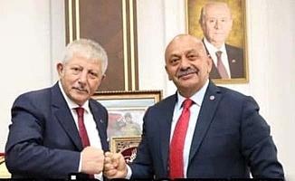Ortaköy'e Amasya'dan malzeme desteği