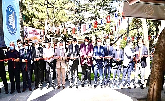 Üçüncü sosyal tesis Pir Baba'da açıldı