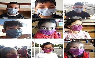 Yıkanabilir maske ürettiler
