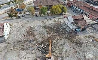Aşağı Sanayi'de tahliye ve yıkım