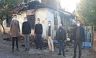 CHP'den Iraklı yangınzedeye geçmiş olsun ziyareti