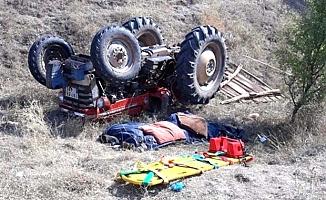 Çift sürerken kaza geçirdi, 1 ölü
