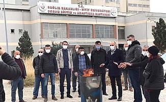 İyi Parti'nin hastane nöbetine CHP desteği