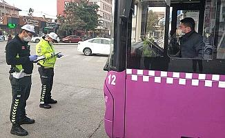 Otobüslerde sivil polis denetimi