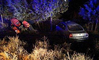 Otomobil traktörle çarpıştı, 6 yaralı