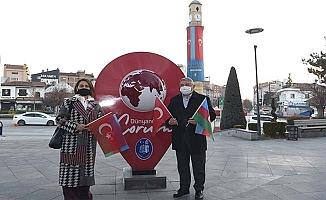 Azerin'den Çorum'dan ilk mesaj, Karabağ Azerbaycan'dır