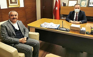 Başkan Şaltu'dan Ceylan'a teşekkür