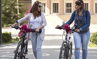 Belediye'ye bisiklet yolu desteği
