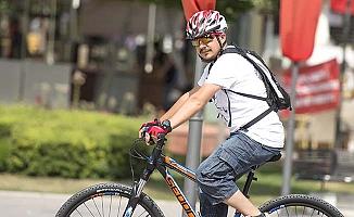 Bisiklet yollarına bir destek daha