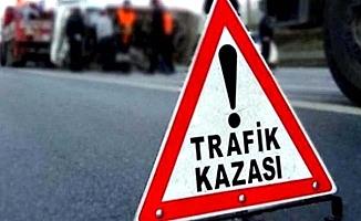 Çomar'da kaza, 4 yaralı