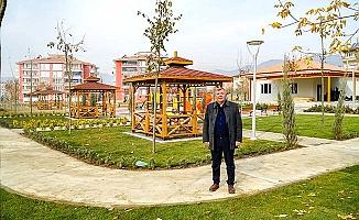 Osmancık'a 4.500 m2 yeni park