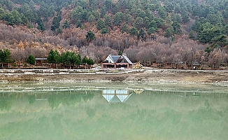 Saklı cennet Yeşil Göl'de sona doğru