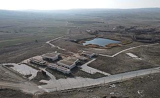 Antik baraj da kuraklıktan etkilendi
