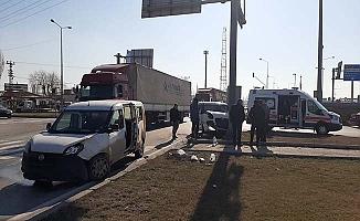 Çevre Yolu'nda kaza