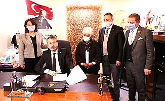 CHP ve Çorum Barosu arasında protokol