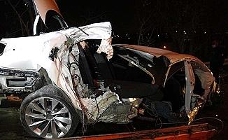 Çorum yolunda kaza: 1 ölü, 2 yaralı