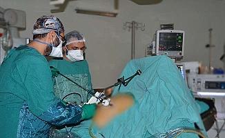 Çorum'da ilk, kapalı mide kanseri ameliyatı