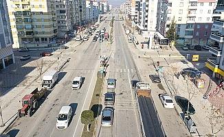 İki caddede trafik rahatlayacak