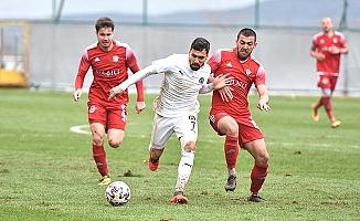 Maç bitti, Manisa FK 1-0 Çorum FK