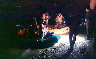 Obruk'ta balıkçılar mahsur kaldı