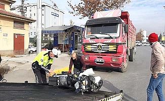 Tuzcular Kavşağı'nda kaza