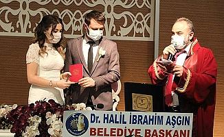 Ahmet ve Büşra'nın mutlu günü