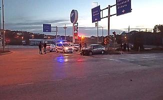 AK Parti milletvekili Çorum'da kaza yaptı