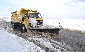 Çorum'da 591 köy yolu kapalı