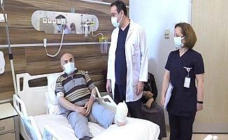 Diyabetik Ayak'ta iddialı hastaneyiz