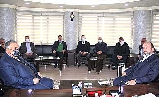 Kavuncu esnaf temsilcilerini dinledi