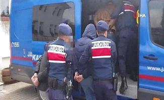 Jandarma 9 olayın 2 şüphelisini yakaladı