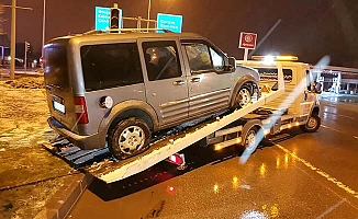 Kar yağışı sonrası kazalar