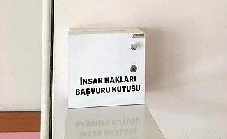 Kurumlara İnsan hakları başvuru kutusu