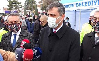 Vali açıkladı, Çorum'da hastanelerde son durum