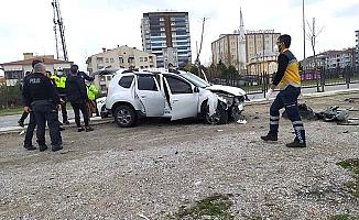 Çevre Yolu'nda kaza, 3 yaralı