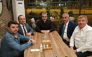 Karapıçak başkanlarla görüştü
