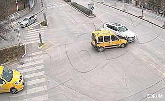 Kaza anı kameralara böyle yansıdı