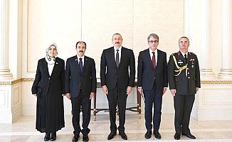 Büyükelçi Bağcı güven mektubunu Aliyev'e sundu