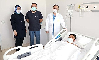 Çorumlu hasta Yozgat'ta şifa buldu