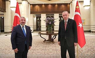 Erdoğan'a çalışmalarını özetledi