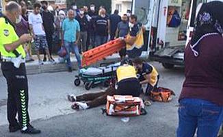 Salı Pazarı'nda kaza