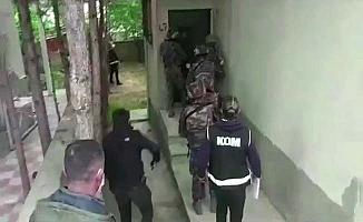 Suç örgütüne operasyon, 10 tutuklama