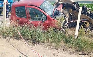 Alaca'da feci kaza, 1 ölü