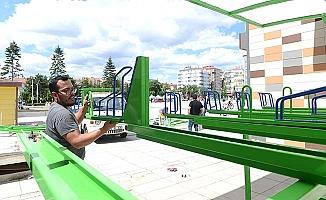 Çorum'a yeni nesil bisiklet parkı