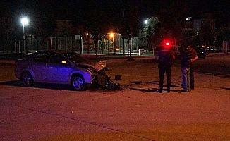 Kovalamaca kazayla bitti, 2 polis yaralandı