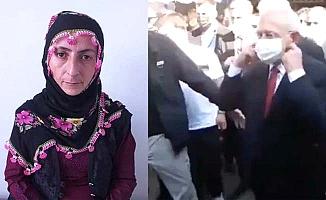 Kılıçdaroğlu'na 'yürü çocuğuma dokunma' diyen kadın konuştu