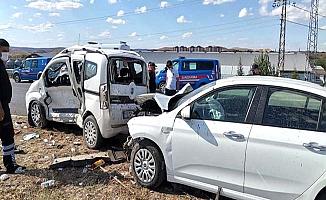 Çorum'da feci kaza: 1 ölü, 2 yaralı
