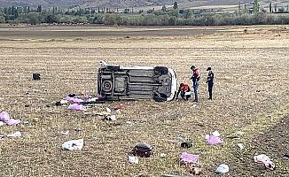 Çorum'da kaza: 2 ölü, 3 yaralı