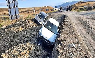 İskilip yolunda kaza